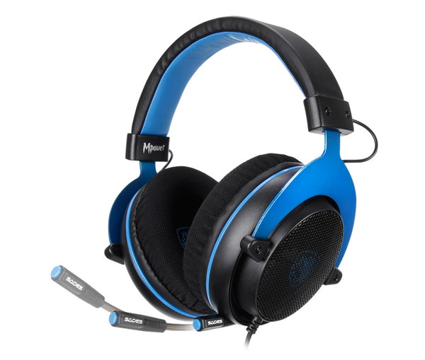 Sades: MPower SA-723 - Gaming Headset (Black)