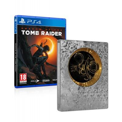 [PS4] Shadow of the Tomb Raider Limited Steelbook Edition - R2