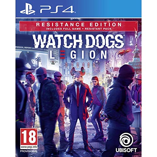 [PS4] Watch Dogs: Legion Resistance Edition - R2 (Arabic/English)