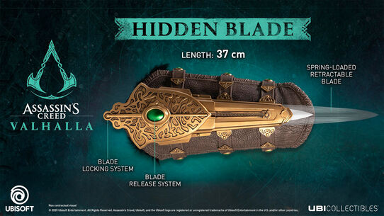 ASSASSIN'S CREED VALHALLA HIDDEN BLADE