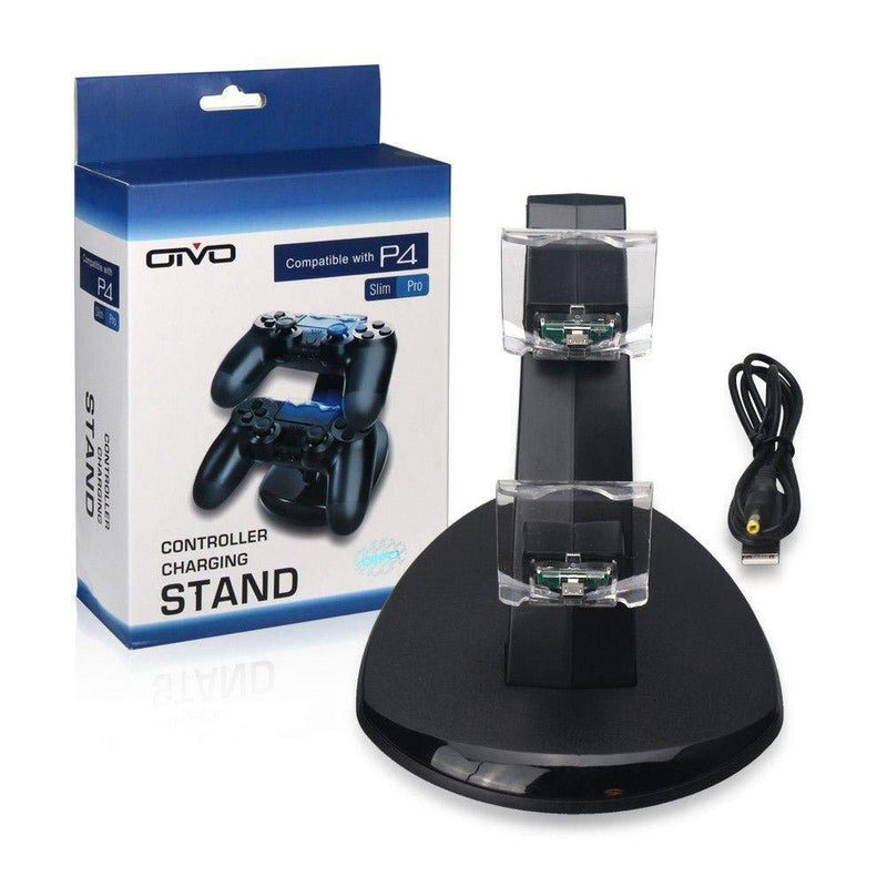 OIVO Dual USB Charging Station For PS4 Controller