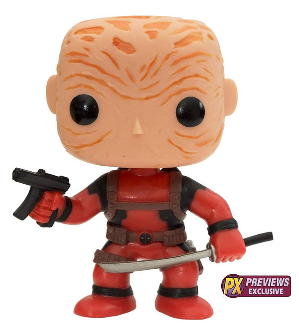 Funko POP! Marvel - Unmasked Deadpool (PX Exclusive)
