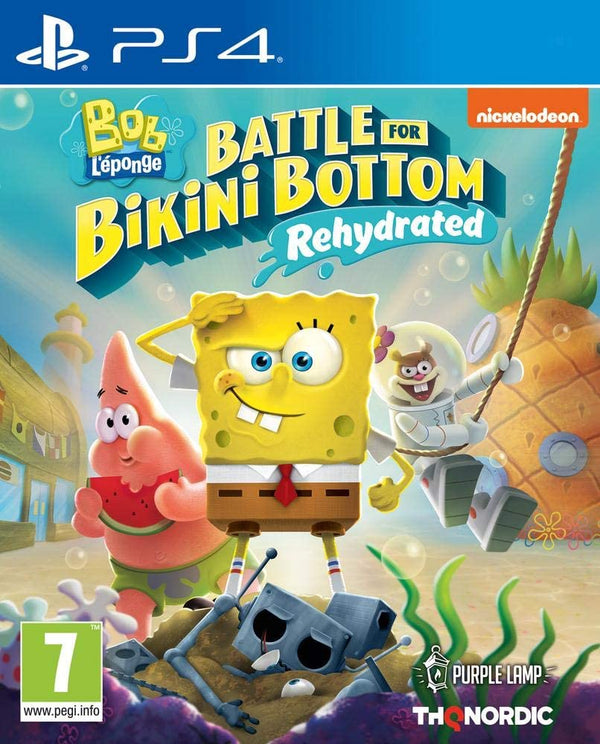 [PS4] SpongeBob Squarepants: Battle For Bikini Bottom - Rehydrated - R2