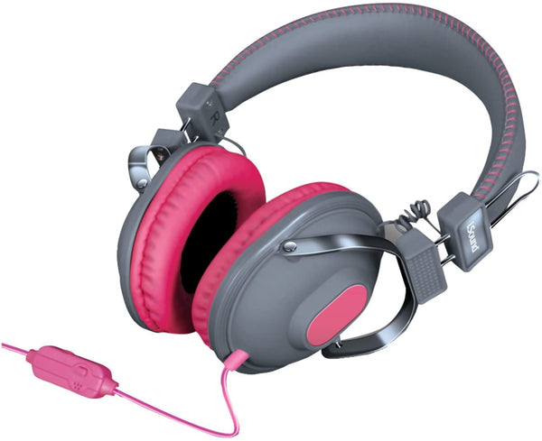 iSOUND HM-260 HEADPHONE - PINK/GREY