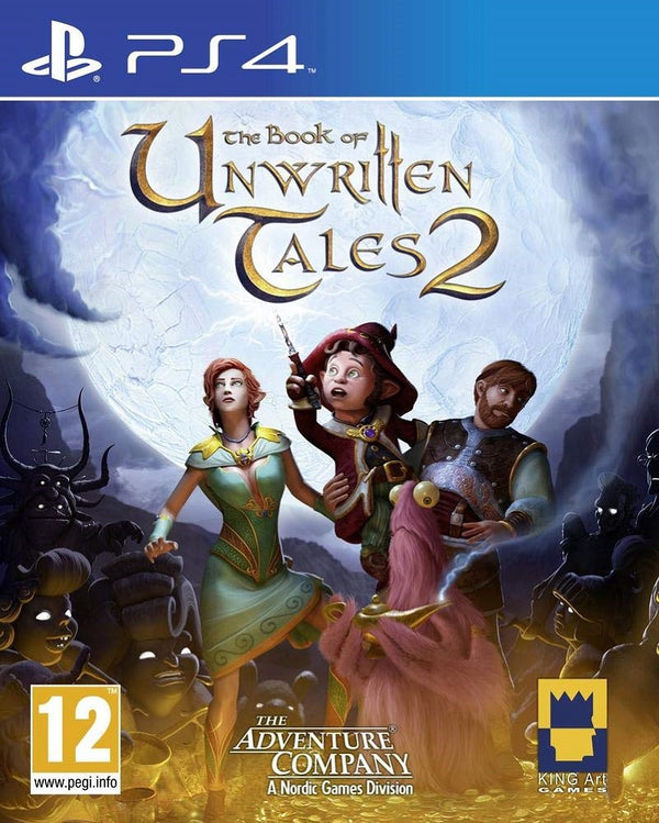 [PS4] The Book of unwritten Tales 2 - R2