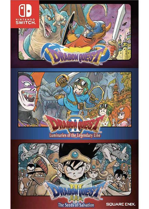 [NS] Dragon Quest Collection