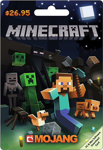 Minecraft $26.95 Digital Code (E-Mail Delivery)