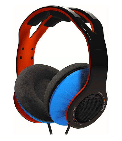 Gioteck TX-30 Stereo 'Game & Go' Wired Headset Orange/Blue