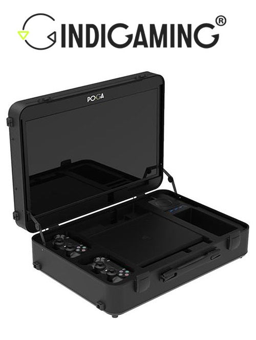 INDIGAMING POGA Pro Black For PS4 Pro