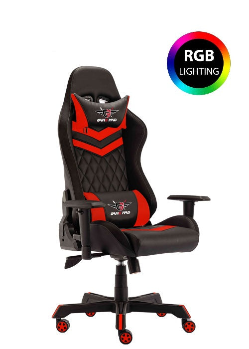 Game Mad Gaming Chair Moving Light RGB - Black/Red