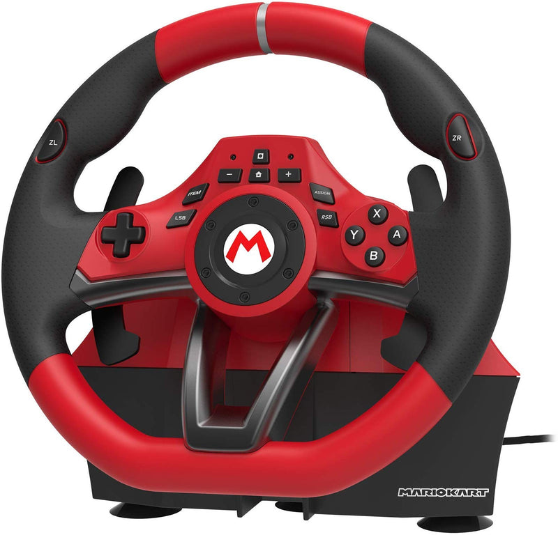 Nintendo Switch Mario Kart Racing Wheel Pro Deluxe By HORI