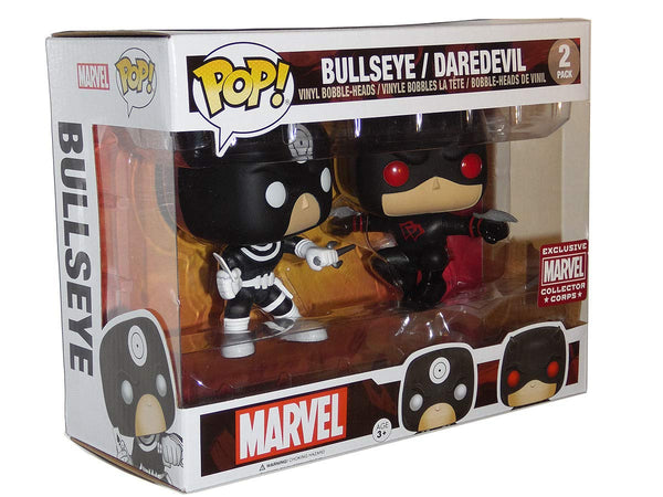 Funko Pop! Marvel: Bullseye vs. Daredevil Collectors Corps