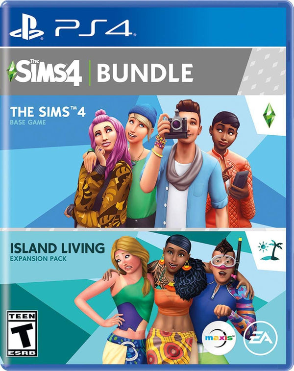 [PS4] The Sims 4 Plus Island Living Bundle - R1