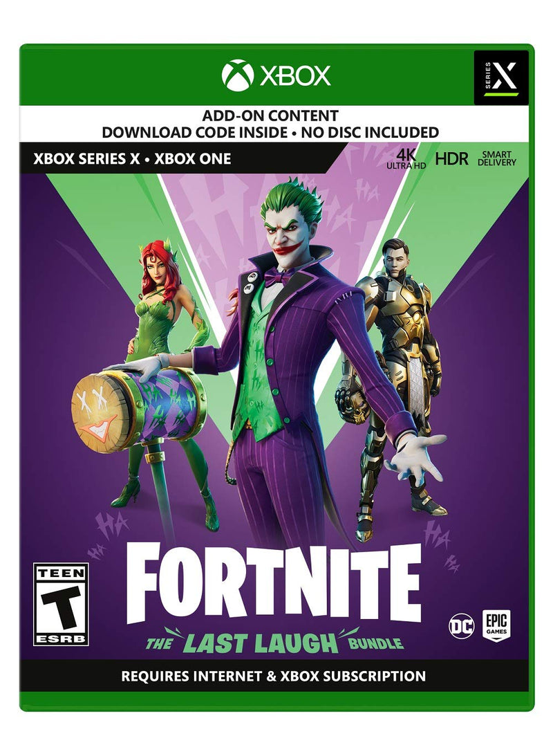 [XB1] Fortnite: The Last Laugh Bundle - R1 (Code Only)