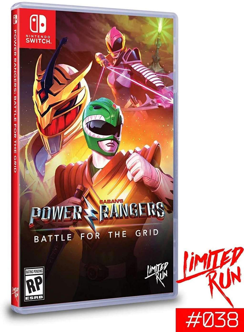 [NS] Power Rangers: Battle For The Grid - R1