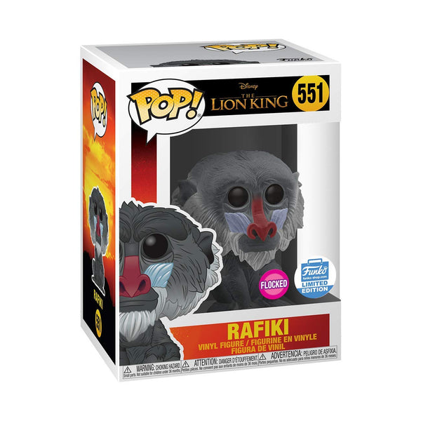 Funko Pop The Lion King - Flocked Rafiki Collectible