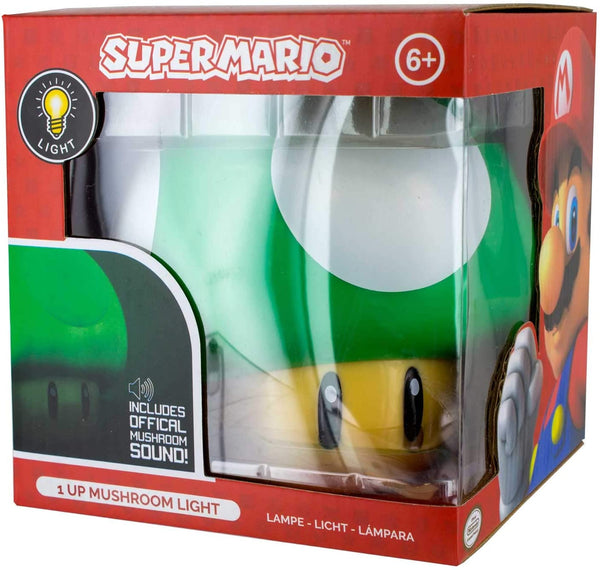 Paladone Super Mario Bros. 1-Up Mushroom Collectible Light