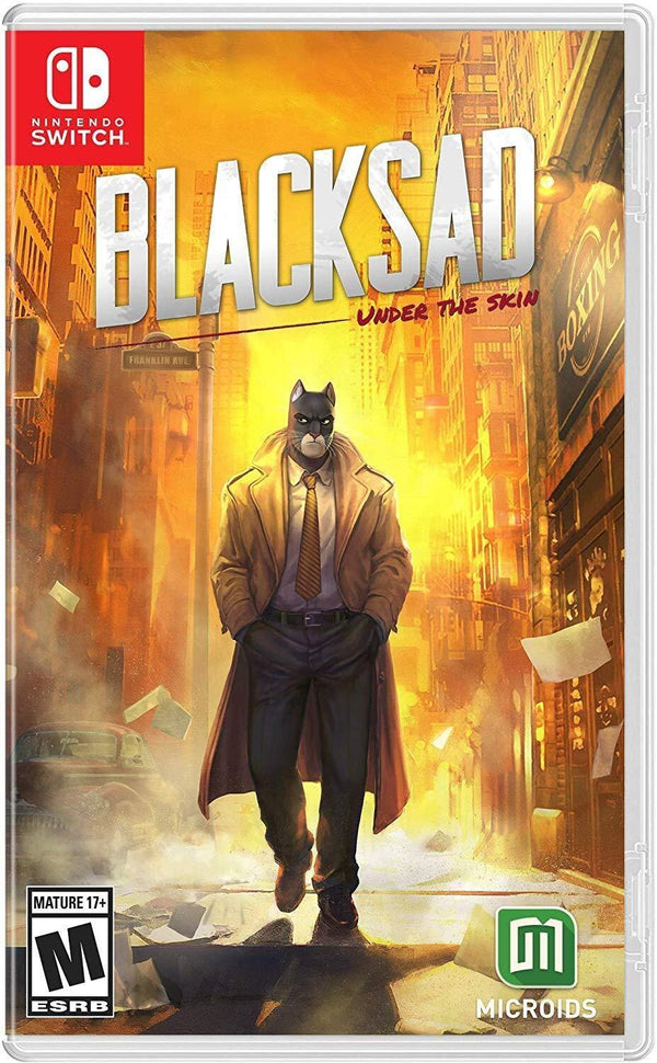 [NS] Blacksad: Under The Skin Limited Edition - R1