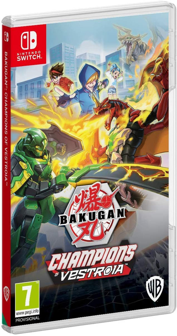 [NS] Bakugan Champions Of Vestroia - R2