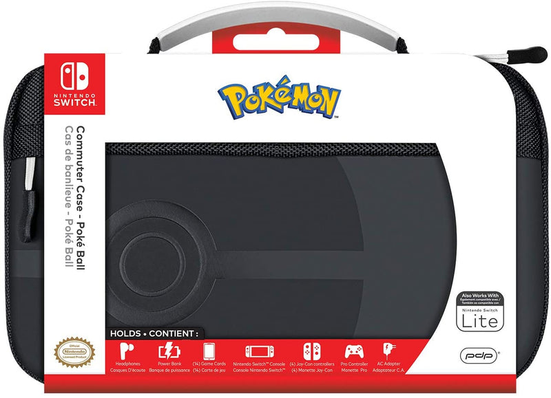 Nintendo Switch Commuter Case - Pokeball Elite by PDP