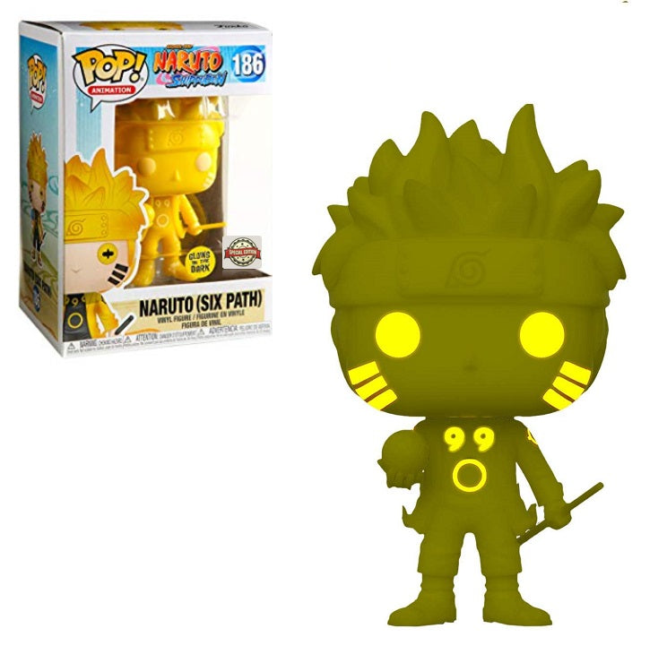 Funko POP! Naruto Shippuden - Naruto Six Path (Glow in the Dark)
