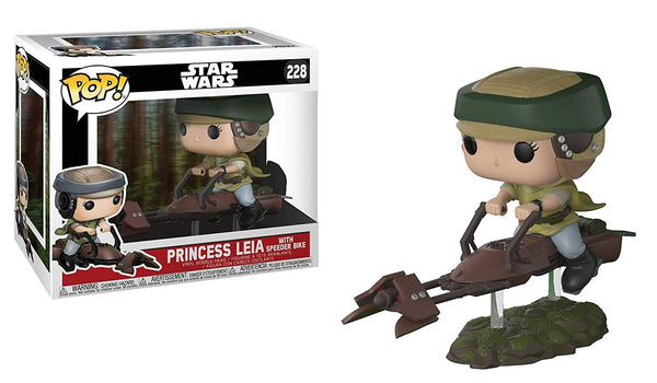 Funko Pop! Princess Leia on Speeder Bike Collectible
