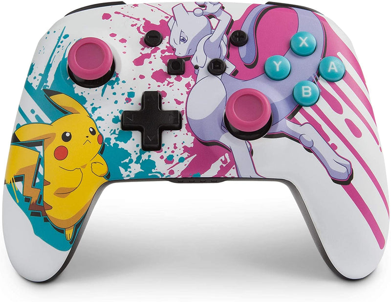 PowerA Enhanced Wireless Controller for Nintendo Switch and Lite - Pokemon Battle