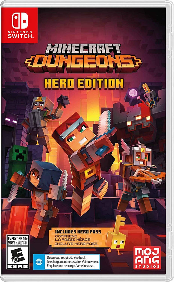 [NS] Minecraft Dungeons Hero Edition - R1