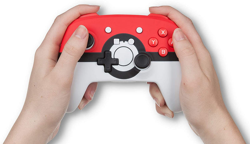 Wireless Enhanced Controller PowerA Officially Licensed  for Nintendo Switch and Lite - Poké Ball