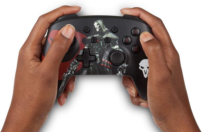 PowerA Enhanced Wireless Controller for Nintendo Switch and Lite - Overwatch  Reaper