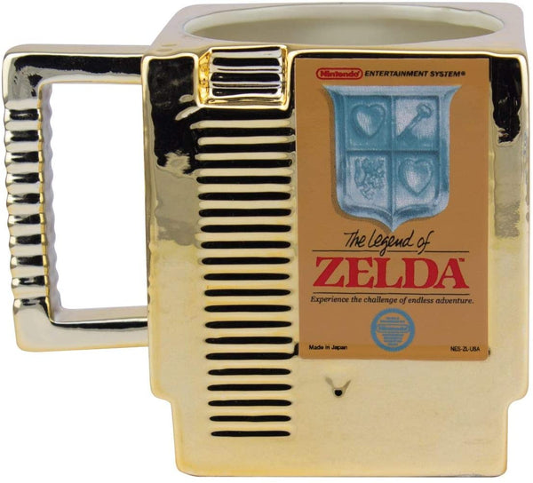 Paladone The Legend of Zelda Cartridge Mug, Nintendo Collectible, 300ml