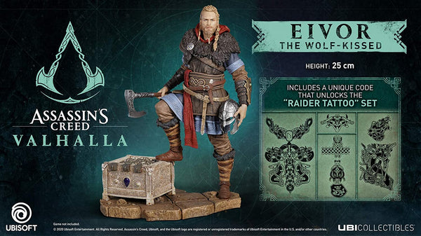 Assassins Creed Valhalla Eivor Male Figurine