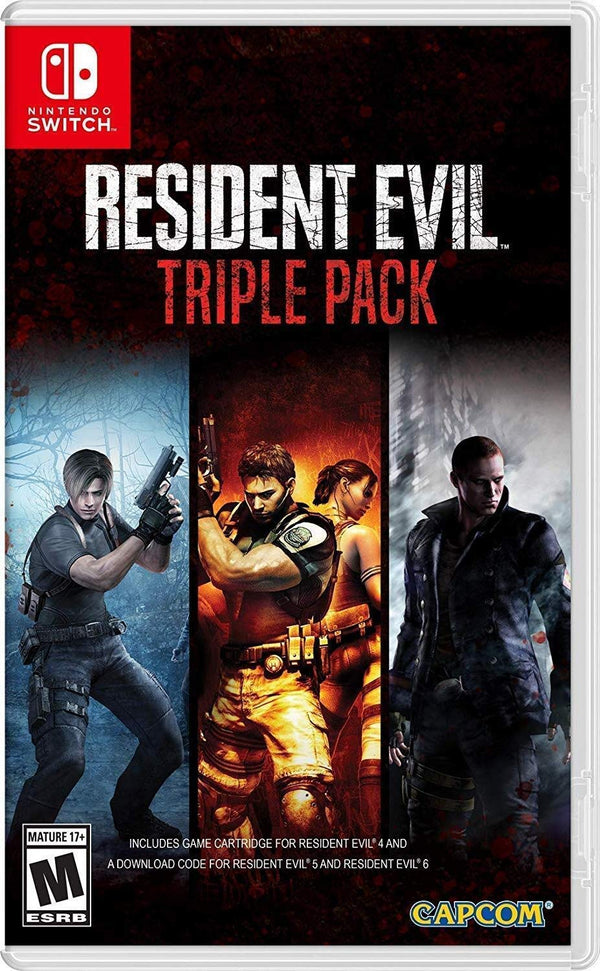 [NS] Resident Evil Triple Pack - R1