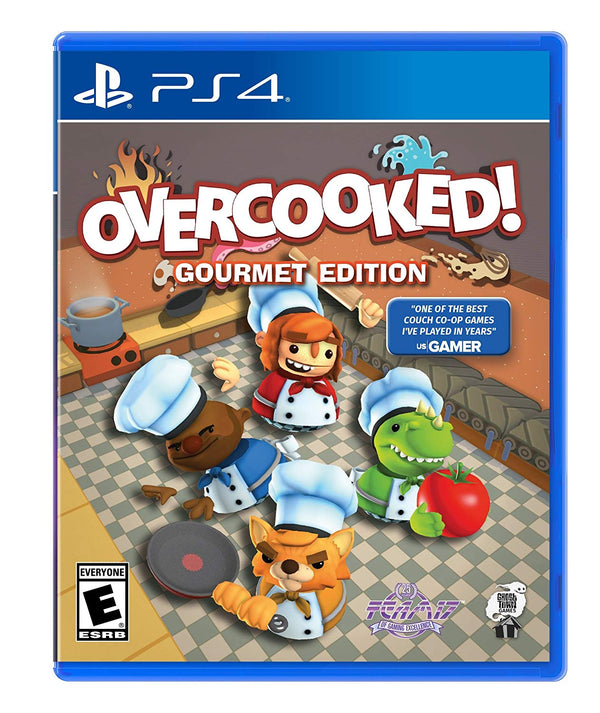 [PS4] Overcooked - Gourmet Edition - R1