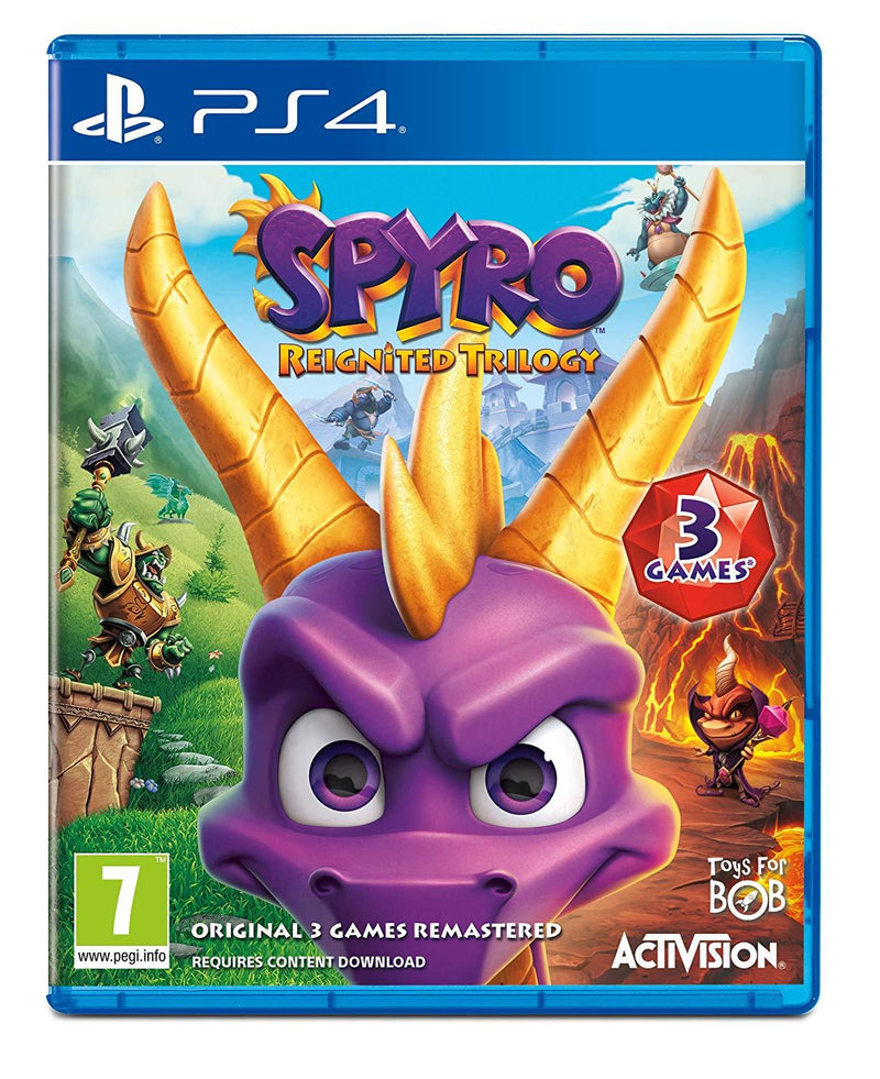 [PS4] Spyro Trilogy Reignited - R2