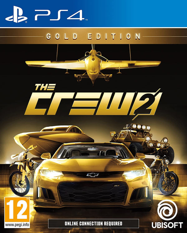 [PS4] The Crew 2 Gold Edition - R2