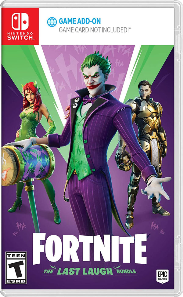[NS] Fortnite: The Last Laugh Bundle - R1 (Code Only)