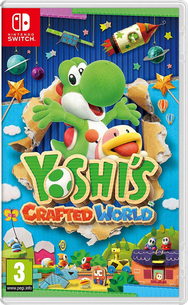 [NS] Yoshi's Crafted World - R2