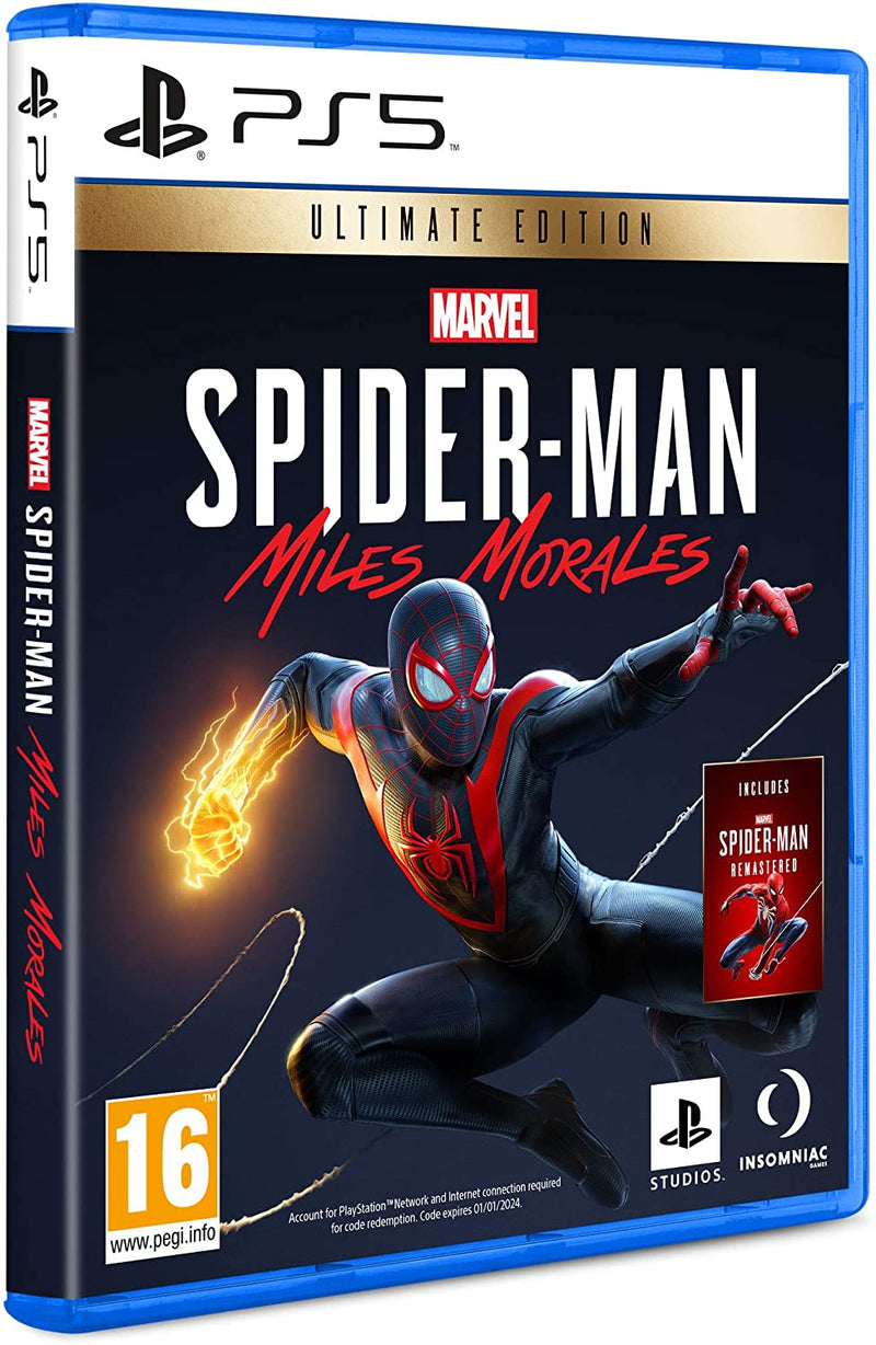 [PS5] Marvel's Spider-Man: Miles Morales Ultimate Edition - R2