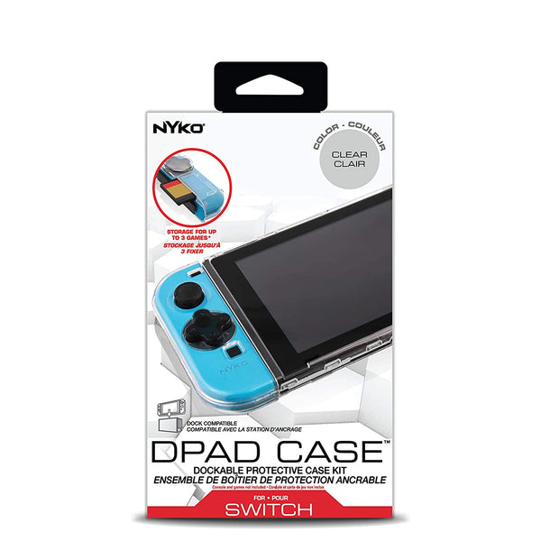 Nyko NS D-Pad Case – Dockable Protective Case