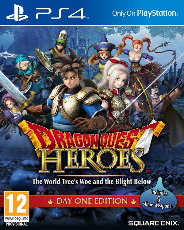 [PS4] Dragon Quest Heroes: The World Tree's Woe and The Blight Below - Day One Edition - R2