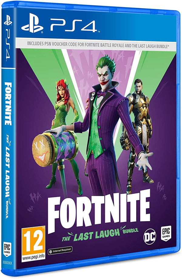 [PS4] Fortnite: The Last Laugh Bundle - R2 (Code Only)