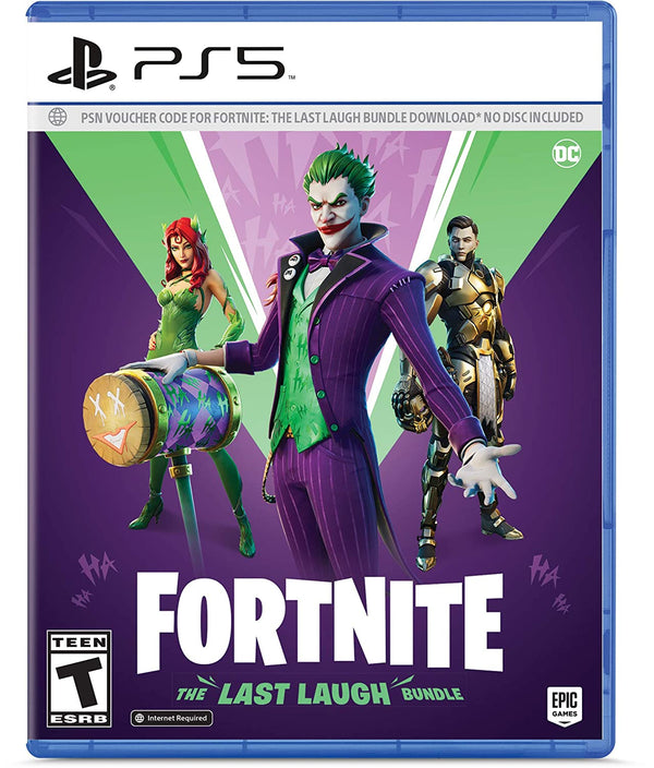 [PS5] Fortnite: The Last Laugh Bundle - R1 (Code Only)