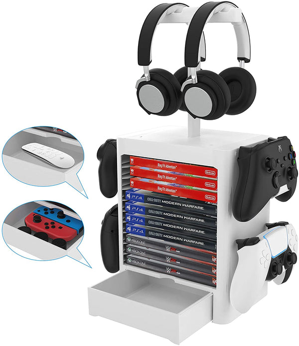 JYS - Multifunctional Game Storage Tower