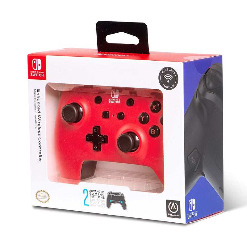 PowerA Enhanced Wireless Controller for Nintendo Switch Red/Black