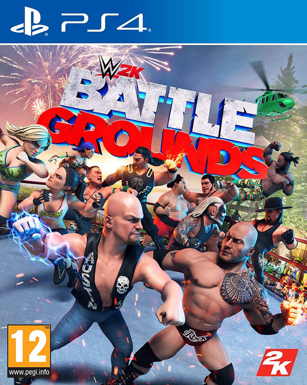 [PS4] WWE 2K BATTLE GROUNDS - R2 (Arabic)