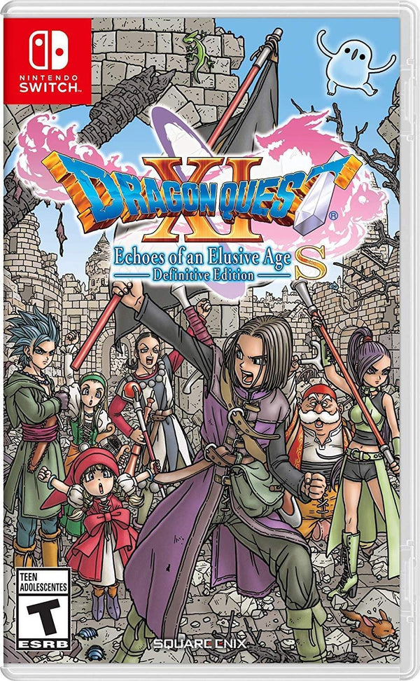 [NS] Dragon Quest XI S: Echoes Of An Elusive Age - Definitive Edition - R1