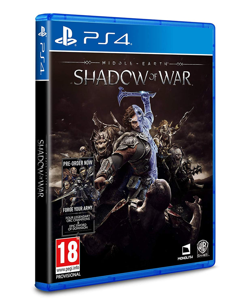 [PS4] Middle earth Shadow of War - R2 (Arabic)