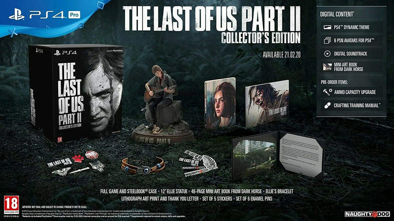 [PS4] The Last of Us Part II Collector's Edition - R2