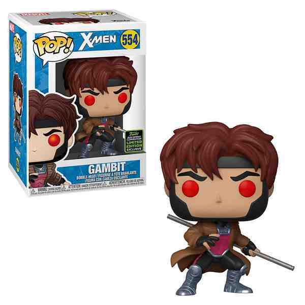 POP MARVEL:  X-MEN GAMBIT -2020 Spring Convention Limited Edition  Exclusive
